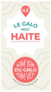Label Du Galo, dam Yan, dam Vèr! Livè 1