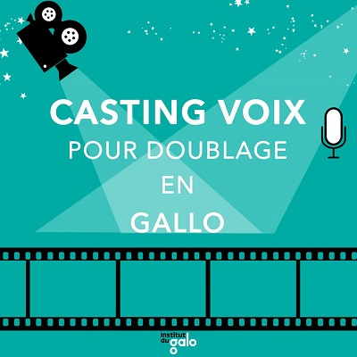 Devenez la voix du gallo, formez-vous au doublage de films en langue gallèse!